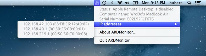 Ard monitor
