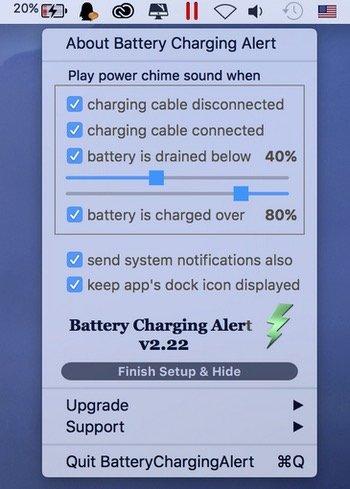 Battery-charching-alert