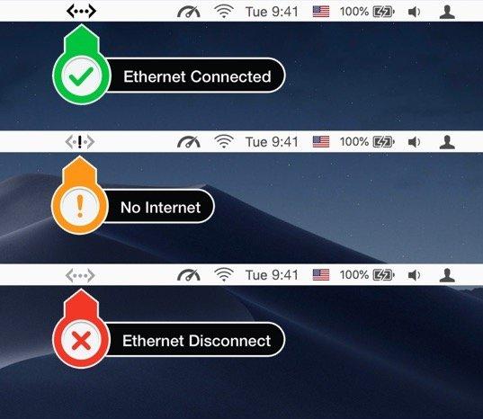 Ethernet-status