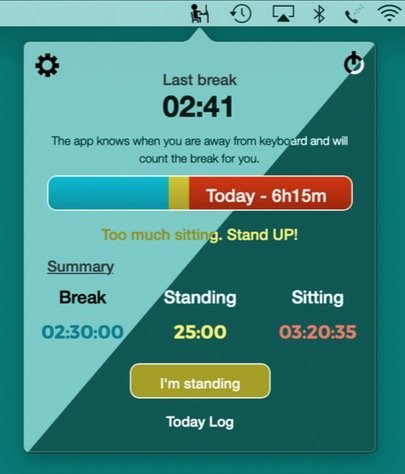 Stand up app