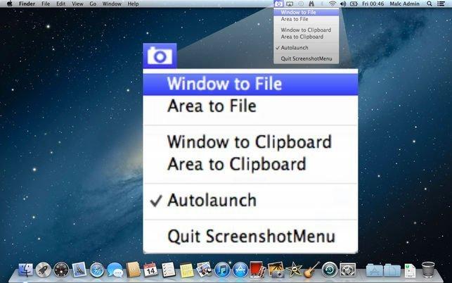 Screen Capturing Apps - MacMenuBar com
