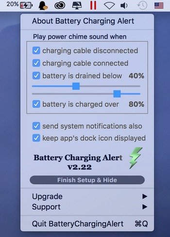 Battery-charching-alert