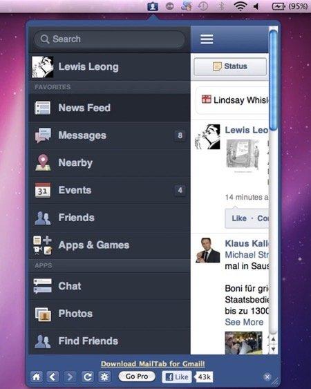 Menutab-for-facebook
